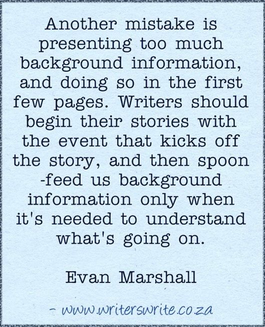 quote from Evan Marshall