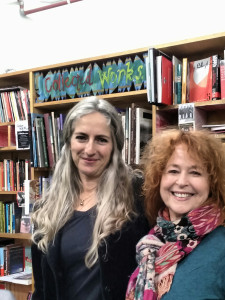 Melissa Bruce and Libby Sommer in Collected Works Bookshop